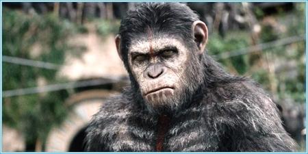 César es el líder de los simios