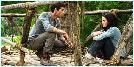 Thomas y Teresa (Dylan O'Brien y Kaya Scodelario)