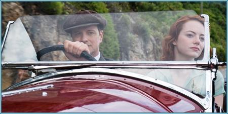 Colin Firth y Emma Stone