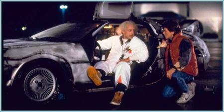 ¿Has construido una máquina del tiempo con un DeLorean?