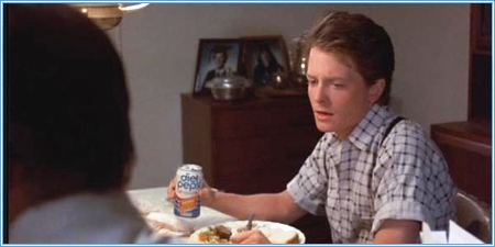 Marty siempre tomaba Diet Pepsi