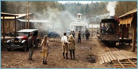 El campamento de los Pemberton