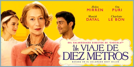Un viaje de diez metros (The hundred-foot journey)