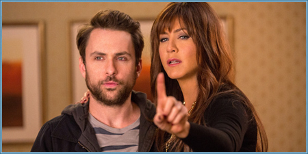 Charlie Day y Jennifer Aniston