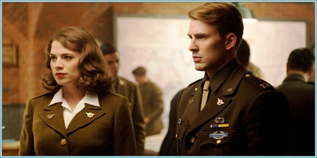 Peggy Carter y Steve Rogers