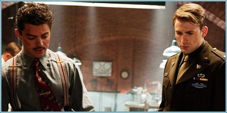 Howard Stark y Steve Rogers