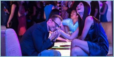 Simon Pegg y Ming Zhao