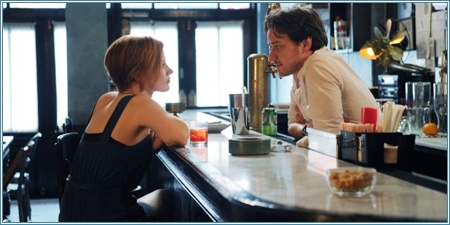 Jessica Chastain y James McAvoy son Eleanor y Conor