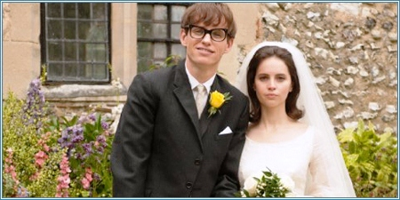Eddie Redmayne y Felicity Jones son Stephen y Jane Hawking