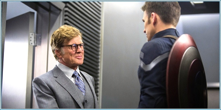 Robert Redford y Chris Evans