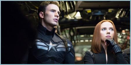 Capitán América y Natasha Romanoff
