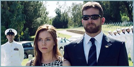 Sienna Miller y Bradley Cooper