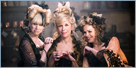 Lucy Punch, Christine Baranski y Tammy Blanchard