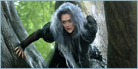 Meryl Streep es la bruja