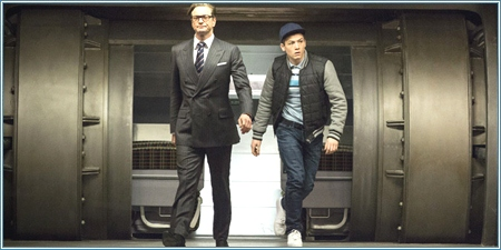 Colin Firth y Taron Egerton son Hart y Eggsy
