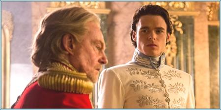 Derek Jacobi y Richard Madden son el Rey y el Príncipe