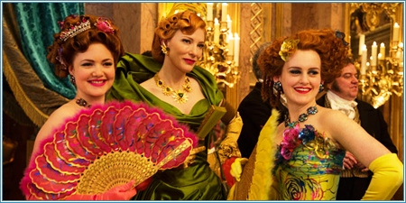 Lady Tremaine y sus dos hijas