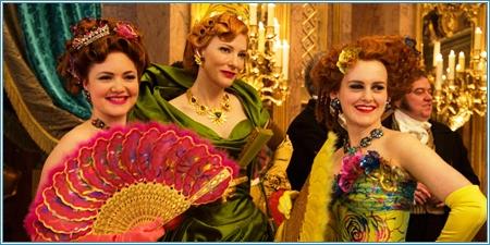 Lady Tremaine y sus dos hijas