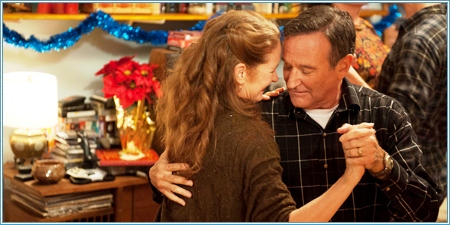 Melissa Leo y Robin Williams