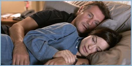 Liam Neeson y Olivia Wilde