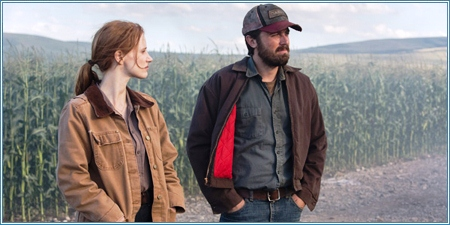 Jessica Chastain y Casey Affleck