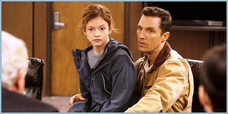 Mackenzie Foy y Matthew McConaughey
