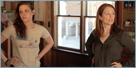 Kristen Stewart y Julianne Moore
