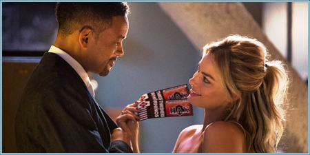 Will Smith y Margot Robbie