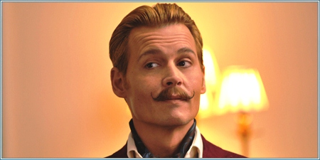 Johnny Depp es Charles Mortdecai
