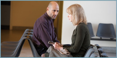 Mark Strong y Nicole Kidman