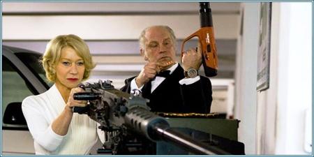 Helen Mirren y John Malkovich