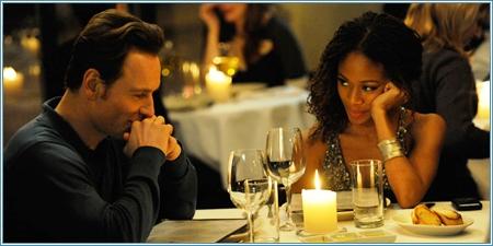 Michael Fassbender y Nicole Beharie