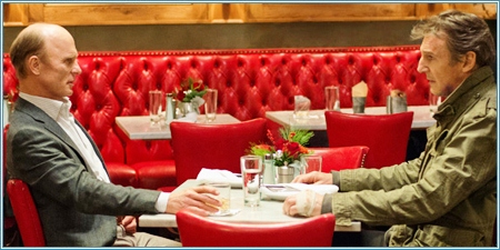 Ed Harris y Liam Neeson