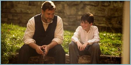 Russell Crowe y Dylan Georgiades