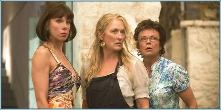 Christine Baranski, Meryl Streep y Julie Walters