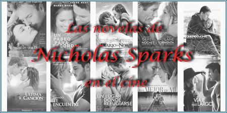 Las novelas de Nicholas Sparks en el cine