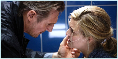 Liam Neeson y Maggie Grace