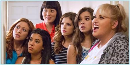 Brittany Snow, Chrissie Fit, Hana Mae Lee, Anna Kendrick, Hailee Steinfeld y Rebel Wilson