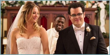 Kaley Cuoco-Sweeting y Josh Gad