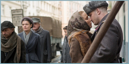 Noomi Rapace y Tom Hardy