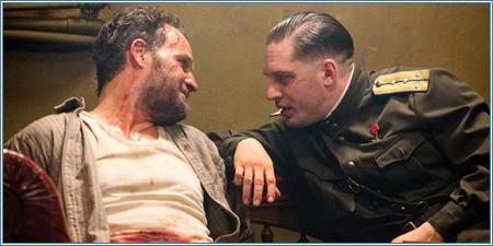 Jason Clarke y Tom Hardy