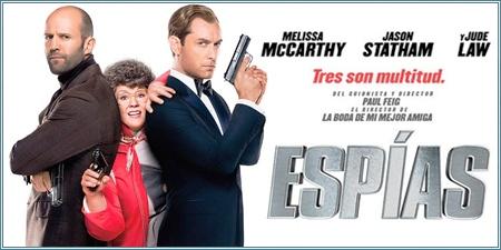 """Espías (""""Spy"""", 2015)"""