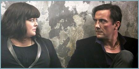 Melissa McCarthy y Peter Serafinowicz