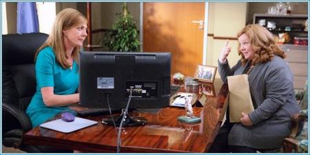 Allison Janney y Melissa McCarthy
