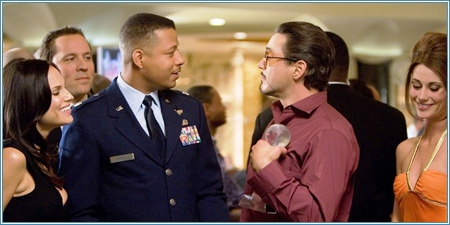Terrence Howard y Robert Downey Jr.