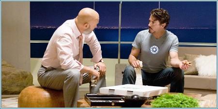 Jeff Bridges y Robert Downey Jr.