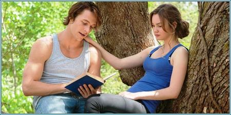 Los jóvenes Dawson Cole y Amanda Collier