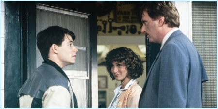 Matthew Broderick, Jennifer Grey y Jeffrey Jones