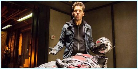 Scott Lang y el traje de Ant-Man