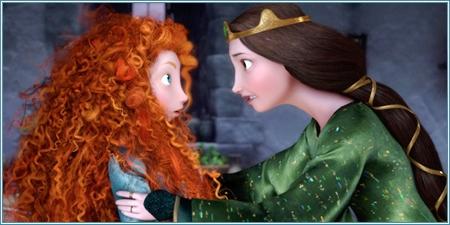 Mérida y Elinor, su madre